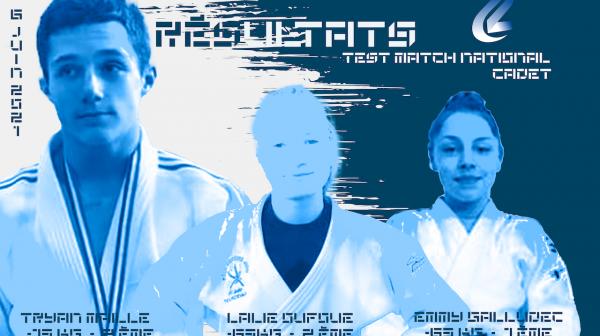 Résultats de la délégation Pas-de-Calais au test match national cadets